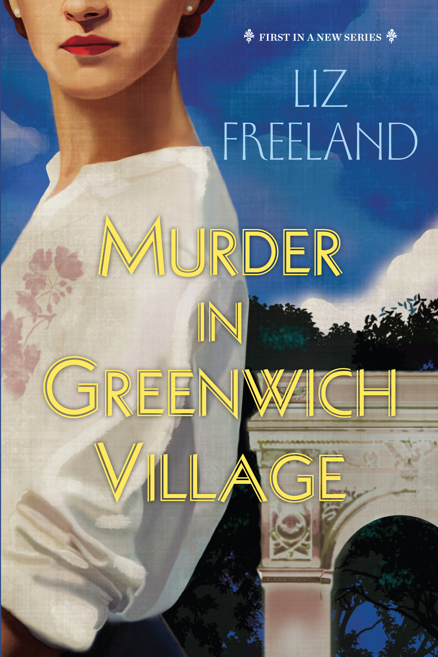 Murder in Greenwich Village cover